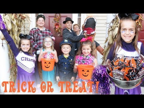 Trick Or Treating on Halloween!!