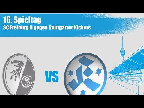 16. Spieltag, SC Freiburg II vs. Stuttgarter Kickers - Spielbericht+Interviews