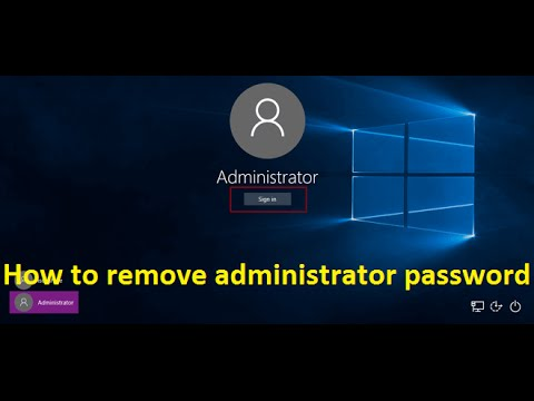 hot to login as administrator windows 10