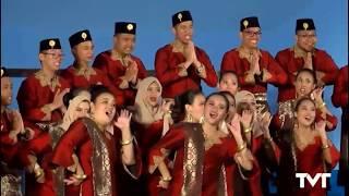 Paduan Suara Mahasiswa Univ Indonesia Paragita | Habaneras Torrevieja 2017 | Mod. Polifonía