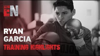 Ryan Garcia Training I Ryan Garcia Working On His Speed And Power I EsNews Boxing