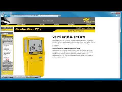 ICON Safety Presents - BW Technologies Gas Alert Max XTII Firmware Upgrade