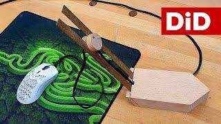 915. Drewniane mouse bandgee DIY