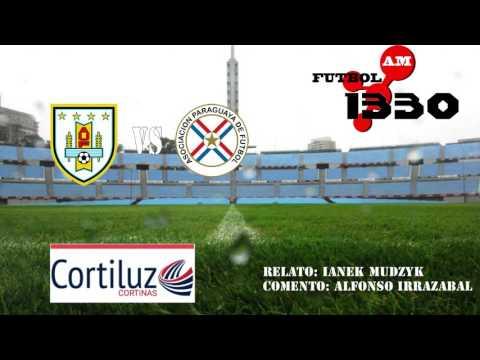 Uruguay 4 - 0  Paraguay (Radio Fenix 1330am)
