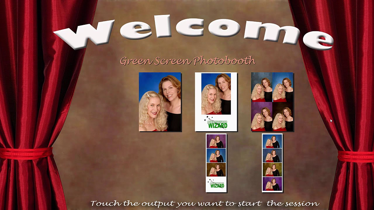 Green Screen Photo Booth Software