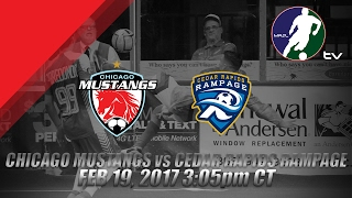 Chicago Mustangs vs Cedar Rapids Rampage