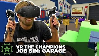 VR the Champions - Job Simulator: Garage