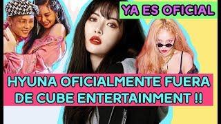Hyuna  Oficialmente fuera de Cube Entertainment !! YA ES OFICIAL !!
