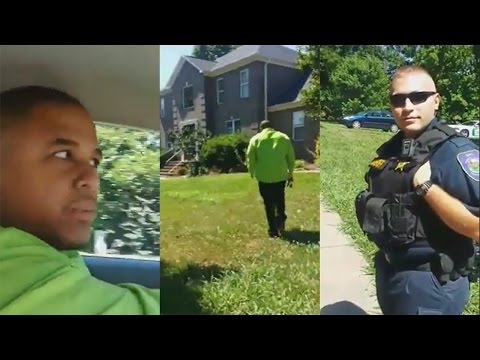 Thumbnail: Cop Racially Profile Black Men In Affluent Neighborhood;Cop Embarrassed After Viewing Property