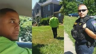 Cop Racially Profile Black Men In Affluent Neighborhood;Cop Embarrassed After Viewing Property thumbnail