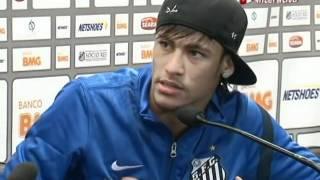 Neymar se irrita com pergunta: