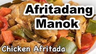 Chicken Afritada Recipe  How to Cook Afritadang Manok with Bell Pepper  Panlasang Pinoy