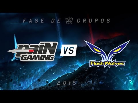 [Mundial 2015] PaiN X Flash Wolves - Grupo A, Dia 4