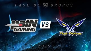 [Mundial 2015] paiN x Flash Wolves - Grupo A, Dia 4