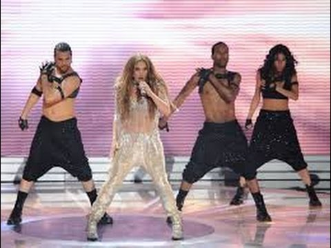 Jennifer Lopez feat Pitbull - On the Floor (Live American Idol)