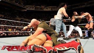 CM Punk & Daniel Bryan vs. The Wyatt Family - 2-on-3 Handicap Match: Raw, Nov. 25, 2013
