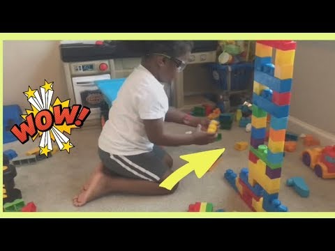 Kids Play with Building Blocks  Building Block Toys for Children  Pretend Play  KIDS RULE TV