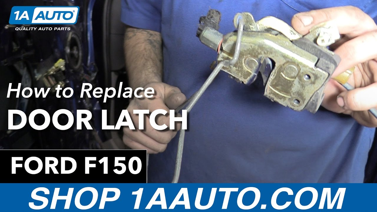 hight resolution of how to replace door latch 97 04 ford f150