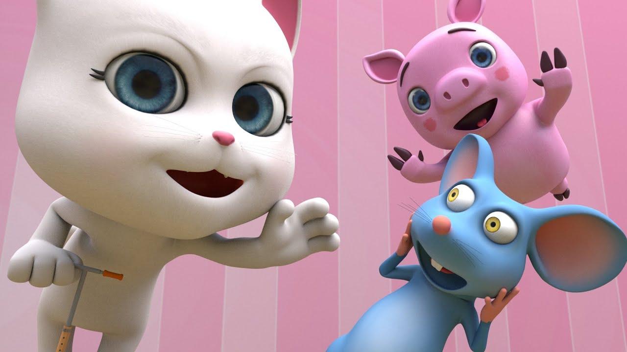 Chú Mèo Con - Nhạc Thiếu Nhi - Con Chuột Nhắt - Meo Meo Meo Rửa Mặt Như Mèo