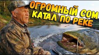 РЫБАЛКА на реке Ветлуга Как ставить ЖЕРЛИЦЫ ОГРОМНЫЙ СОМ