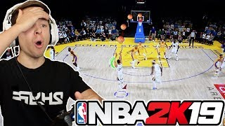 *UNSEEN* NBA 2K19 GAMEPLAY!! I GOT TO PLAY IT EARLY!