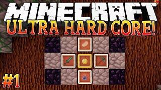 DAY ONE! - Ultra Hardcore (Minecraft Ultra Hardcore Mod) - #1