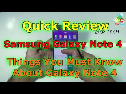 Samsung Galaxy Note 4 SM-N910G: specifications, photos