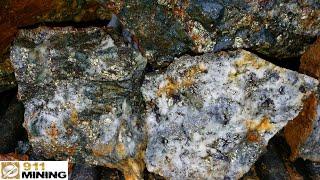 Four Hundred Pound High Grade, Gold, Silver & Copper Float Boulder!