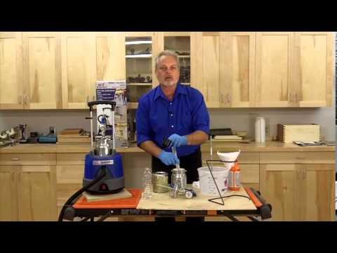 Earlex HV5500 SprayStation - Thinning - Latex Paints