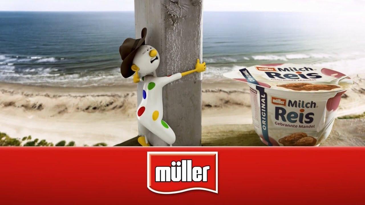 Müller Milchreis Mit Gebrannten Mandeln Werbespot Alles Müller