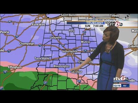 Forecast: Snow expected Sunday