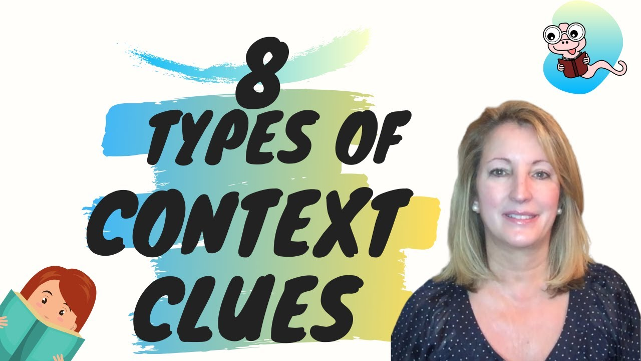 small resolution of Reading Comprehension   8 Types of Context Clues to Be a Better Reader -  YouTube