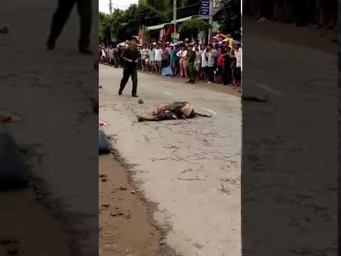 tai nạn tại xã Kiến An, Huyện Chợ Mới, tỉnh An Giang