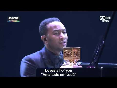 49 John Legend - All Of Me -- Aprenda Ingles Com a