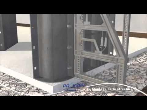 Etapes d 39 installation de la piscine en kit enterr e ppp youtube for Installation piscine enterree