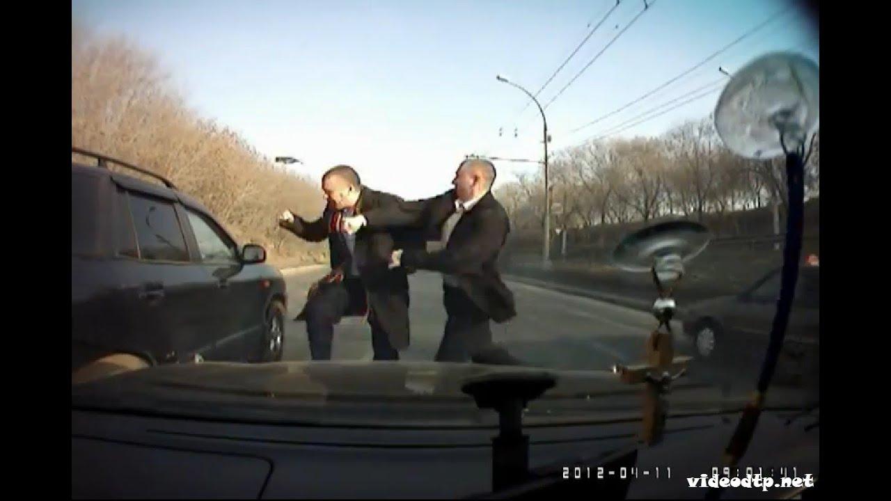 Смотреть драки на дорогах