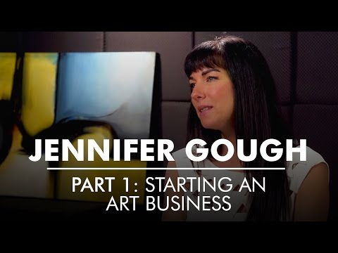 Part 1: Starting an Art Business | Artist Entrepreneur Jennifer Gough | AQ's Blog & Grill