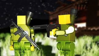 Brick Rigs Game | NEW BOSS ZOMBIES VS ROCKET LAUNCHERS! | Brick Rigs Gameplay - New Zombie Update