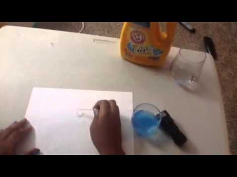 how to make invisible uv ink youtube. Black Bedroom Furniture Sets. Home Design Ideas