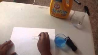 How to make invisible uv ink
