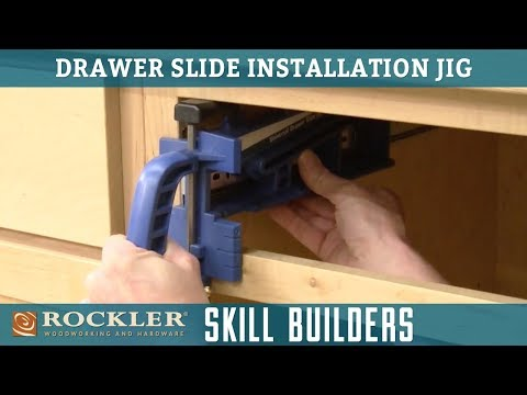 Easy Jig for Installing Drawer Slides | Rockler Skill Builders