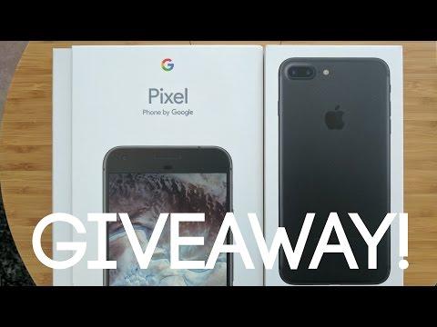 iPhone 7 Plus or Google Pixel XL GIVEAWAY! (128GB X2 WINNERS)