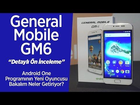 General Mobile GM6 mercek altında: Tüm detaylar