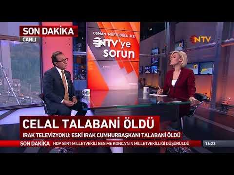 Osman Müftüoğlu ile NTV'ye Sorun 3 Ekim 2017