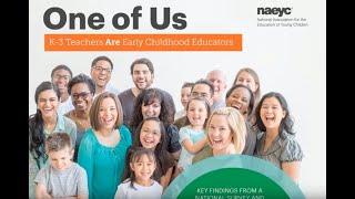 Webinar: Key findings from new NAEYC research on K-3 educators