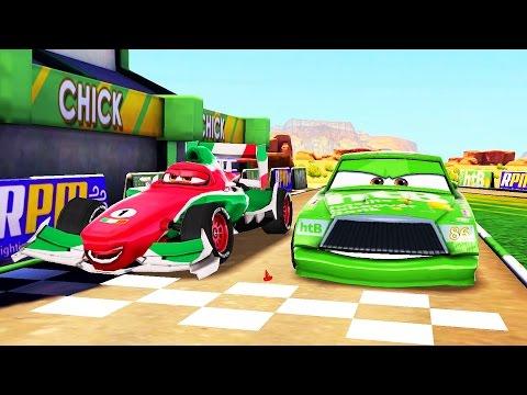 Arabalar Şimşek McQueen Hızı Yeni Yarışçı Arabalar Geliyor (Araba Oyunu)