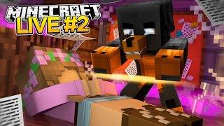 Minecraft : LITTLE KELLYS HALLOWEEN LIVESTREAM SPECIAL! #2