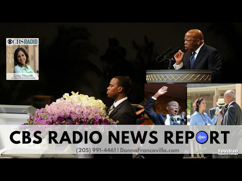 Donna Francavilla Reports - Reverend Fred Shuttlesworth Celebration of Life Ceremony