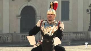 Corazzieri e Fanfara dei Carabinieri - Cambio della Guardia Quirinale