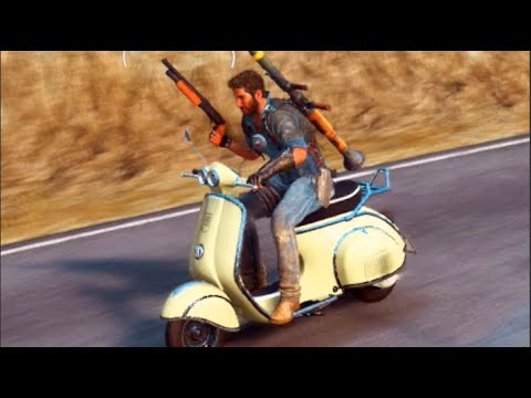 Just Cause 3 - Ep2 I Feel Like Terminator!